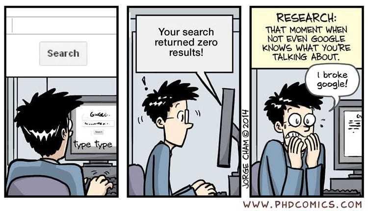 Search PHDcomics