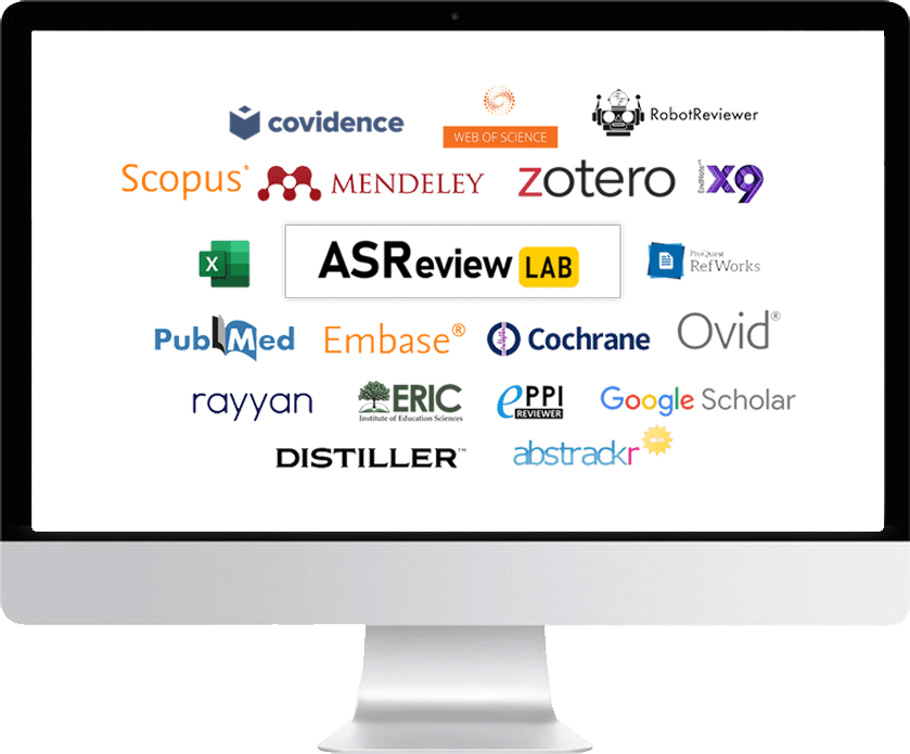 Software that works with ASReview